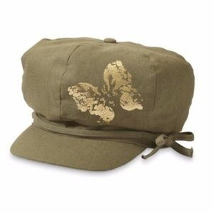 buttefly cabbie hat